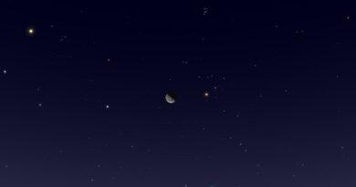 Hoy: Conjunción de la Luna y la estrella Aldebarán