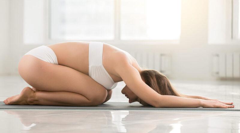 Balasana to Reduce Abdominal Fat