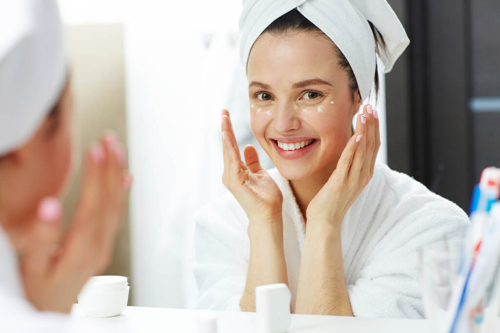 Potato mask against Wrinkles, Spots and Acne