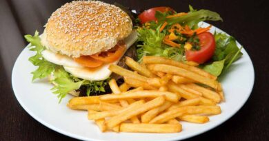 Hamburger and fries - 7 Secrets on NO DIET Day: celebrating International No Diet Day - Beauty and Health - Diets - Dorian's Secrets - The Eternal Youth Magazine